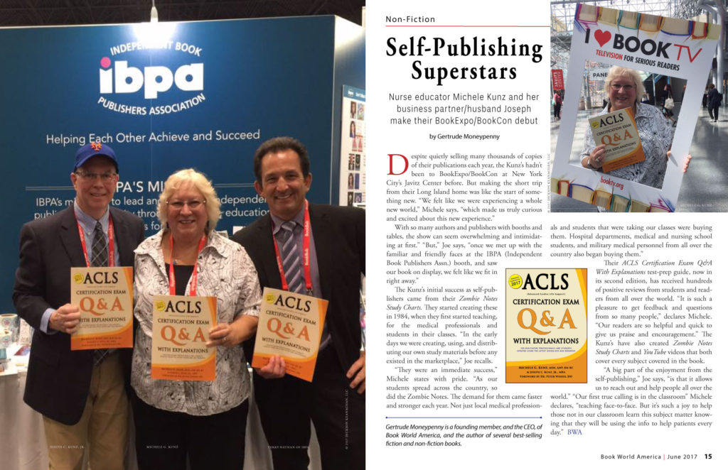 Book-World-America-ACLS-QA: Self-Publishing Superstars