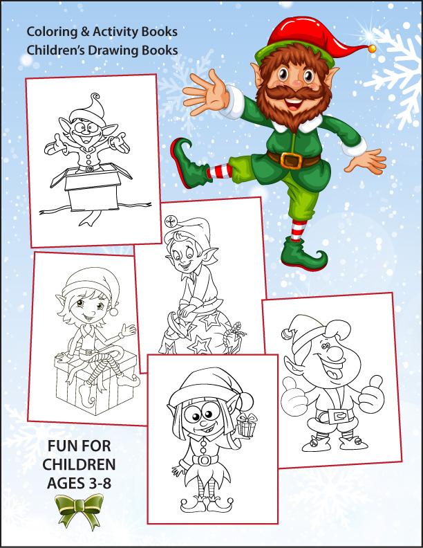 Santas-Elves-Coloring-Book-back-cover